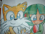 Tails and Cosmo.