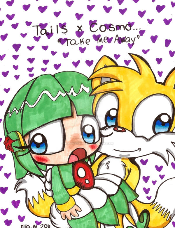 Tails x cosmo take me away by violent rainbow on deviantart