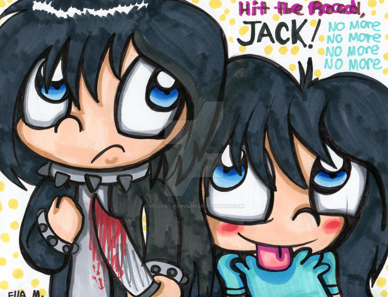 Hit the road jack by violent rainbow on deviantart