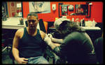 - a tattoo -