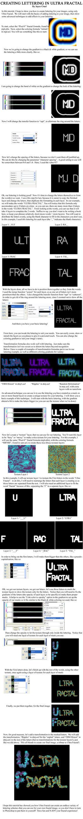 Tutorial- Lettering in UF by JayceCruel