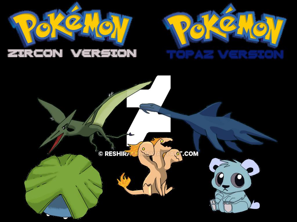 Mysterious New Pokemon Revealed By Reshiram6 On Deviantart