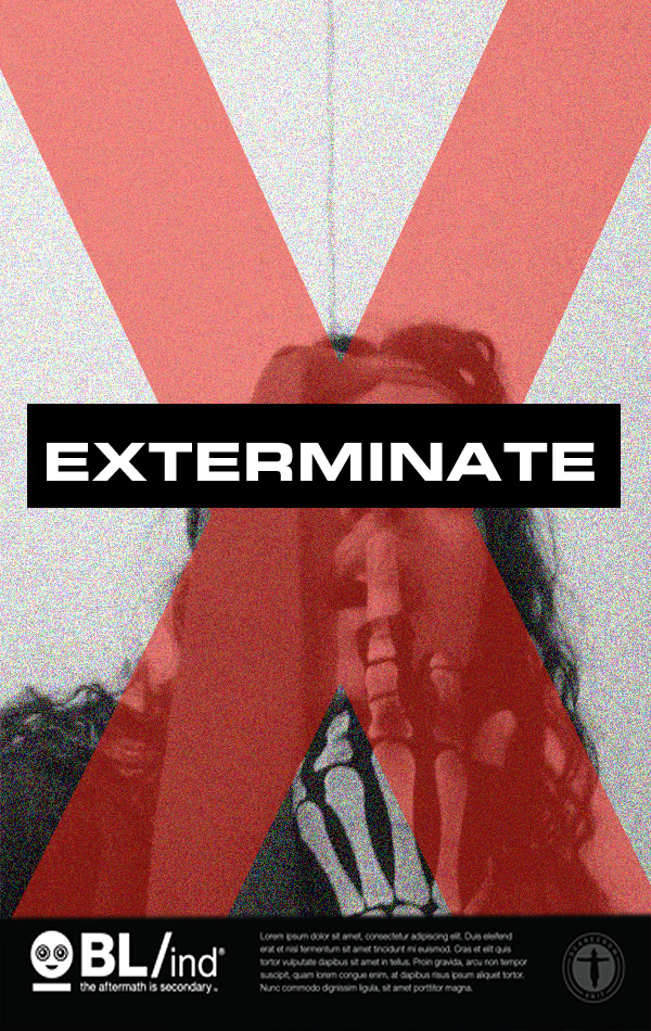 My Exterminate Poster by NancyKilljoy