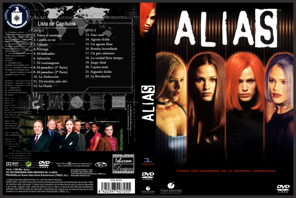 Alias DVD Cover design by Ishcrom on DeviantArt