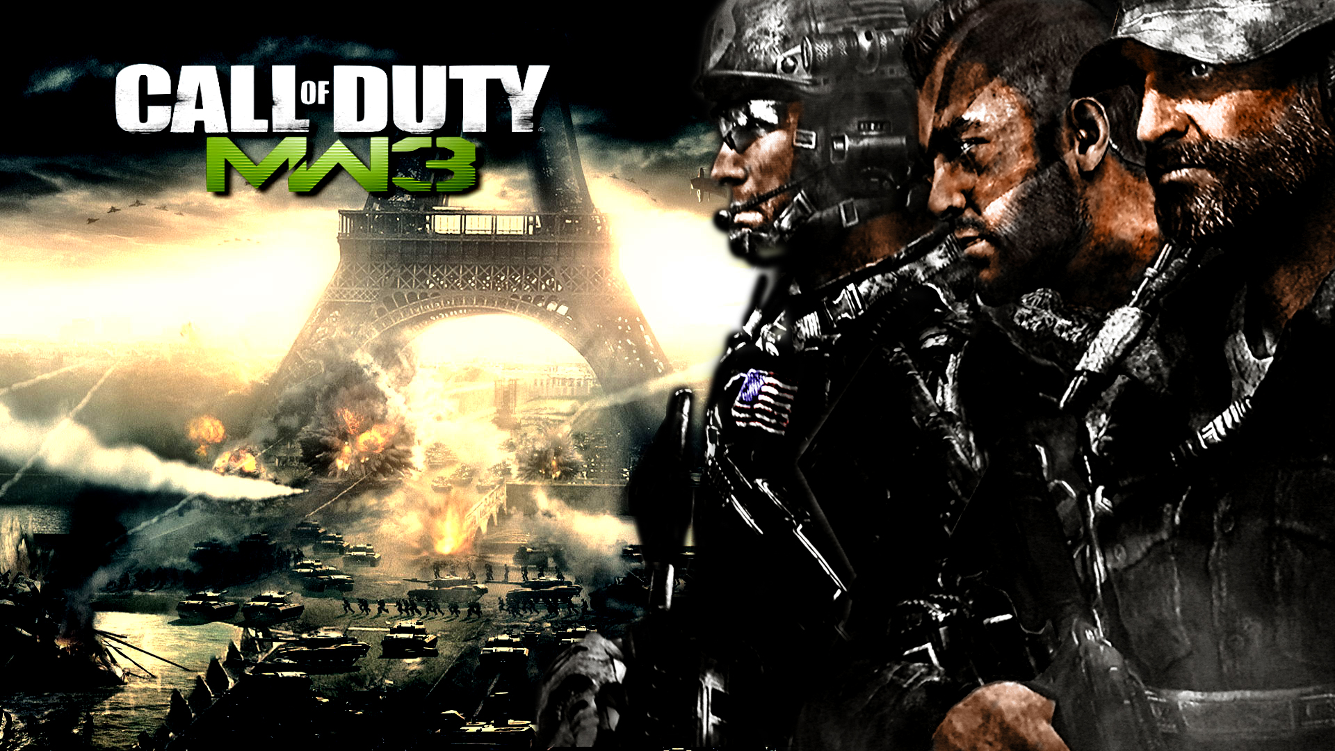 Modern Warfare 3 Wallpaper By VuLC4no
