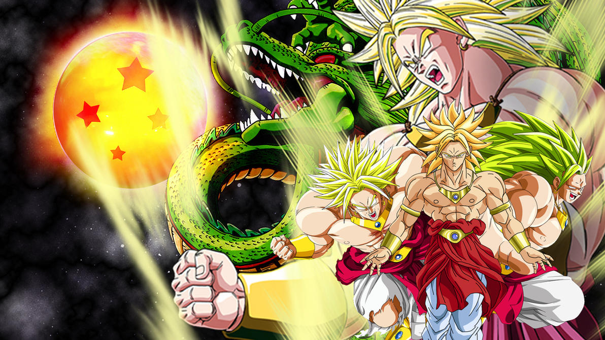 broly wallpaper by vulc4no on deviantart