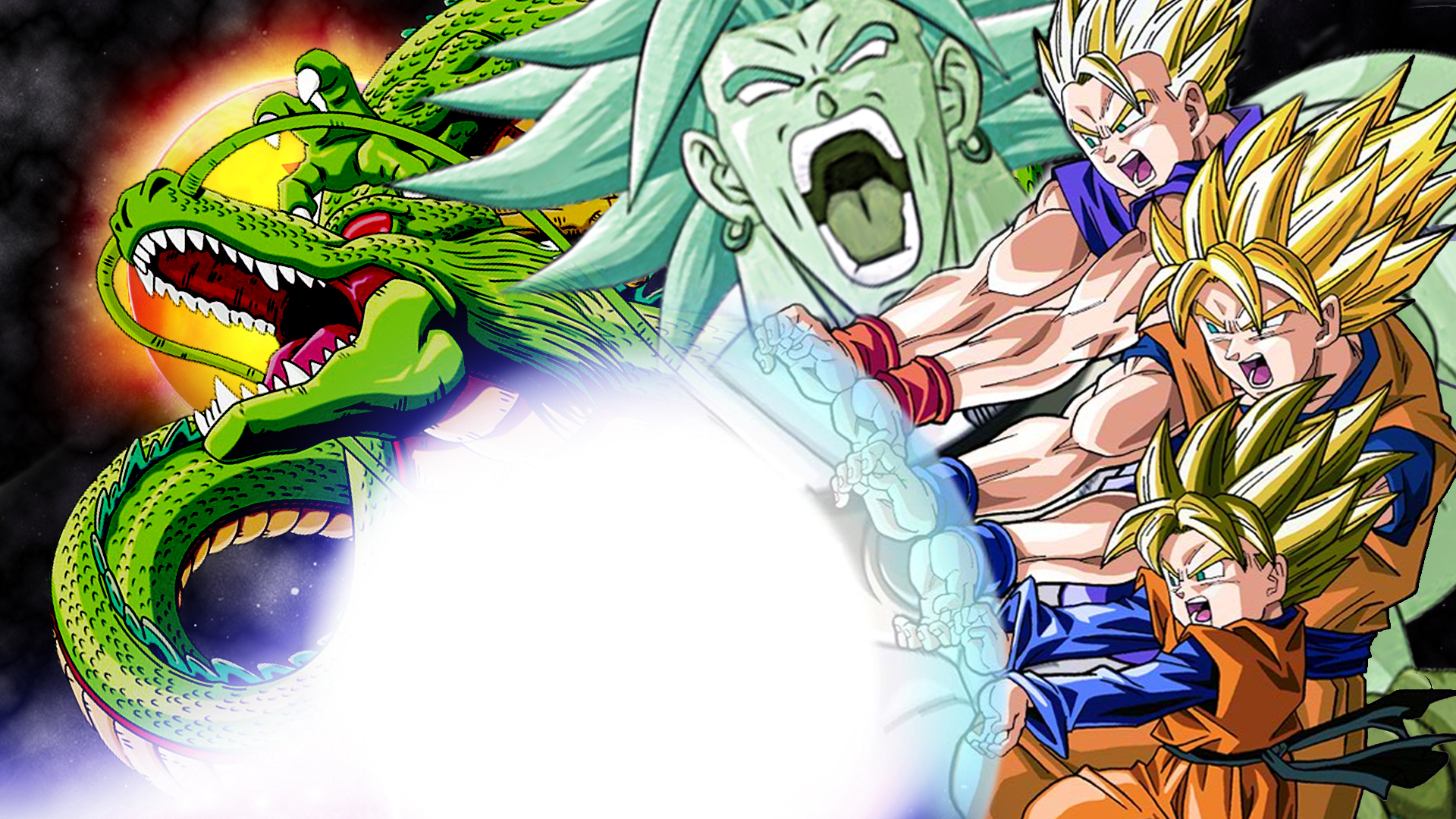 broly movie wallpaper by vulc4no on deviantart
