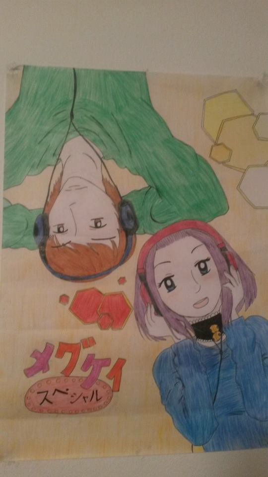 MeguKei poster by KachibanaMei007