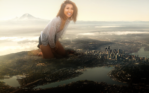 Watched Over By Brenda Song by intershrinker