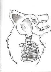 Werewolf Morph by ScarletsFate