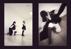Inu x boku SS: Ririchiyo and Kagerou by Fuwamii