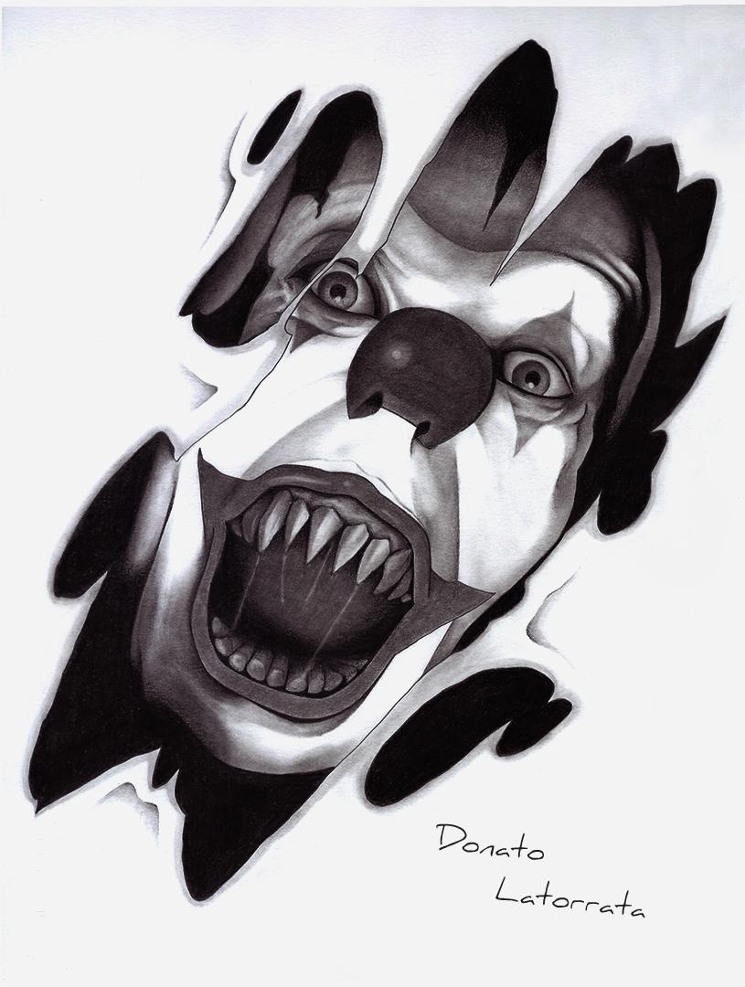 pagliaccio horror by donlatart on deviantart