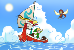 Wind Waker: After journey by madworld-guy