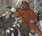 King Kookaburra vs. Boomerang Bruce Roolan