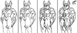 Johnny Drac muscle growth by Omni-Aura