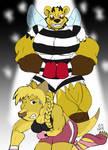 Roxie Roolan vs. Hive Queen 3, by Casey L. Jones