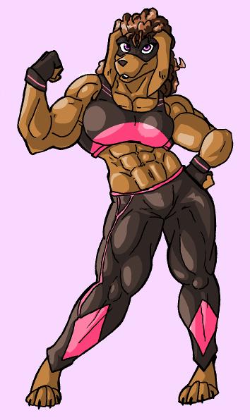 Identity workout pose, by Nateblue