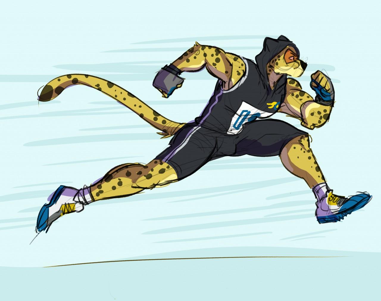 Champion Cheetah by ThatMuttMarie