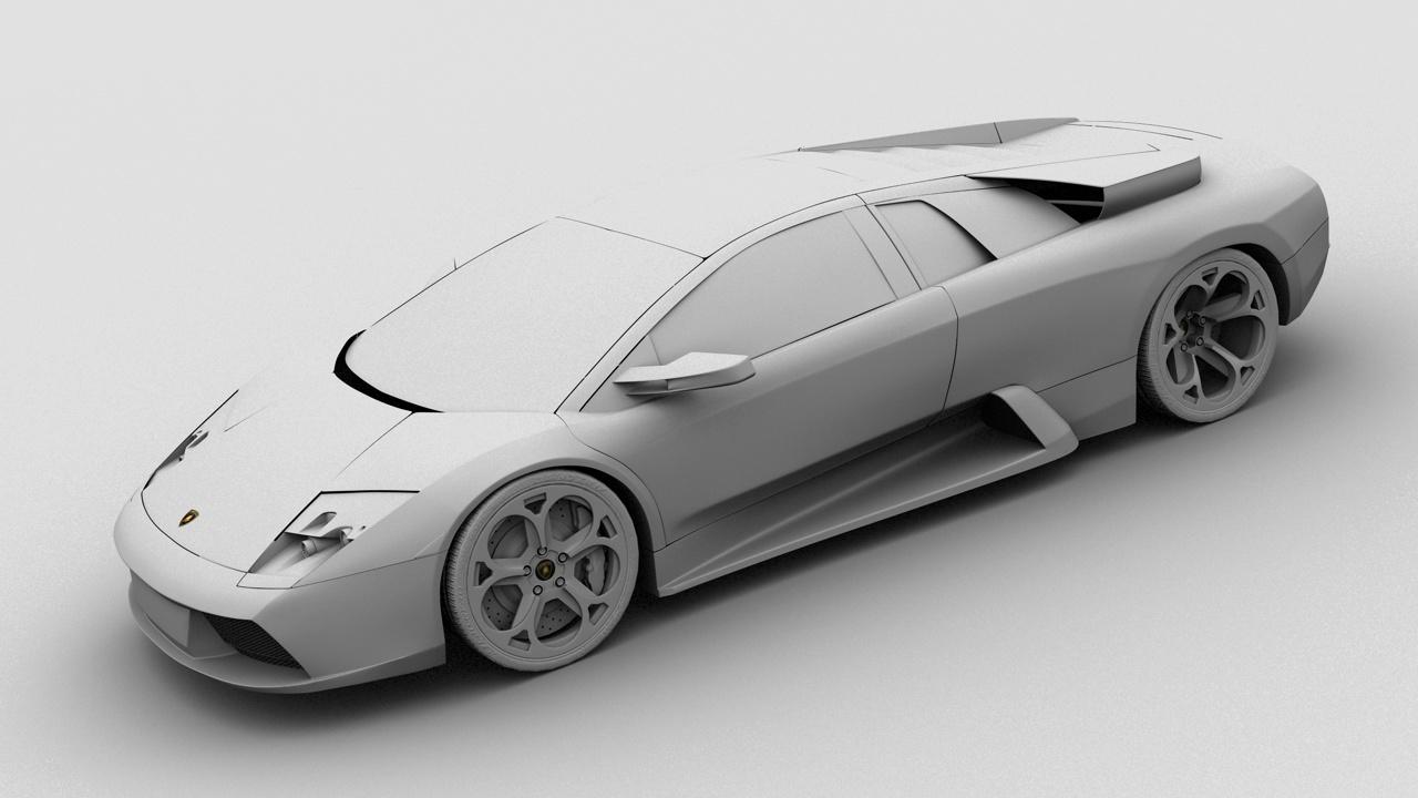 Lamborghini Murcielago 3D by Reggiani