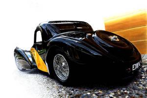 Bugatti Atalante Illustration by Reggiani