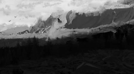 dragon land by boxofmagicalfury