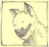 Black Dog by qrowdad
