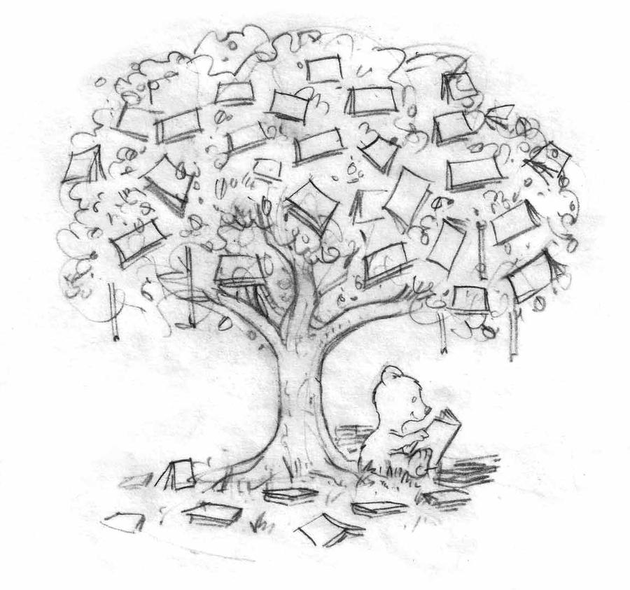 Reading Under the Book Tree