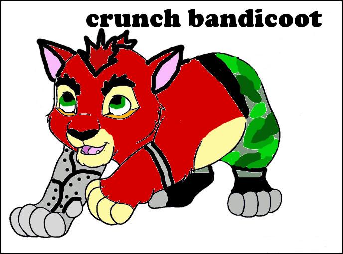 Crunch bandicoot wallpaper