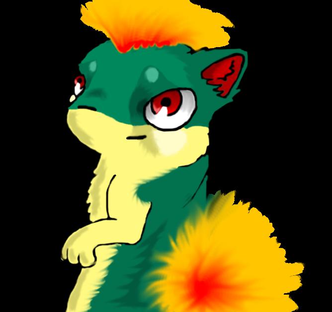 Quilava finished by Koala-Sam