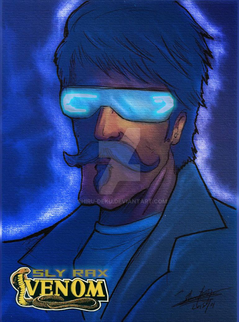 Sly Rax Original M.A.S.K kenner tribute Shiru Deku