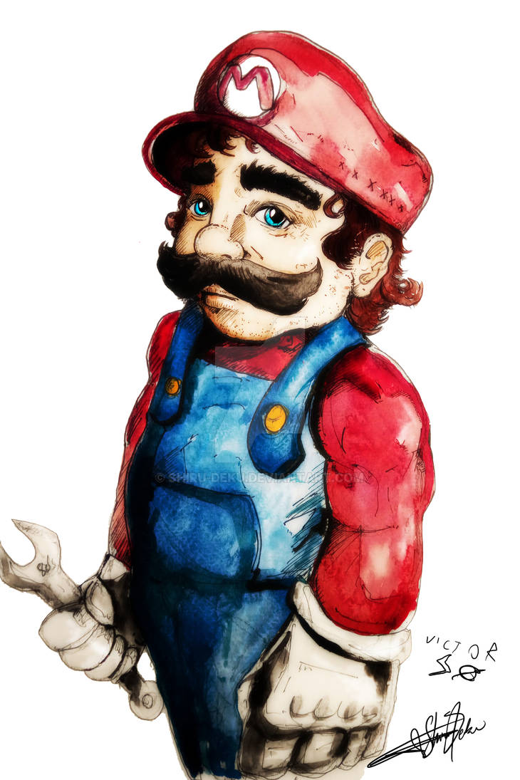 Super Mario Bros : Par Victor et Papa / Shiru Deku
