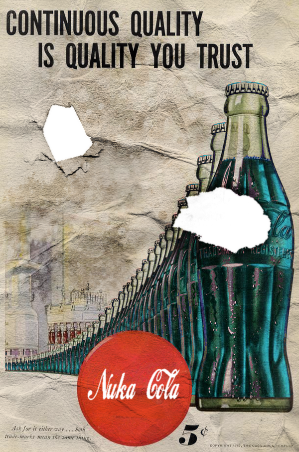Nuka Cola Poster by Craig-38