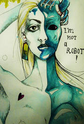 I'm not a robot 3 by LoveNaberrie