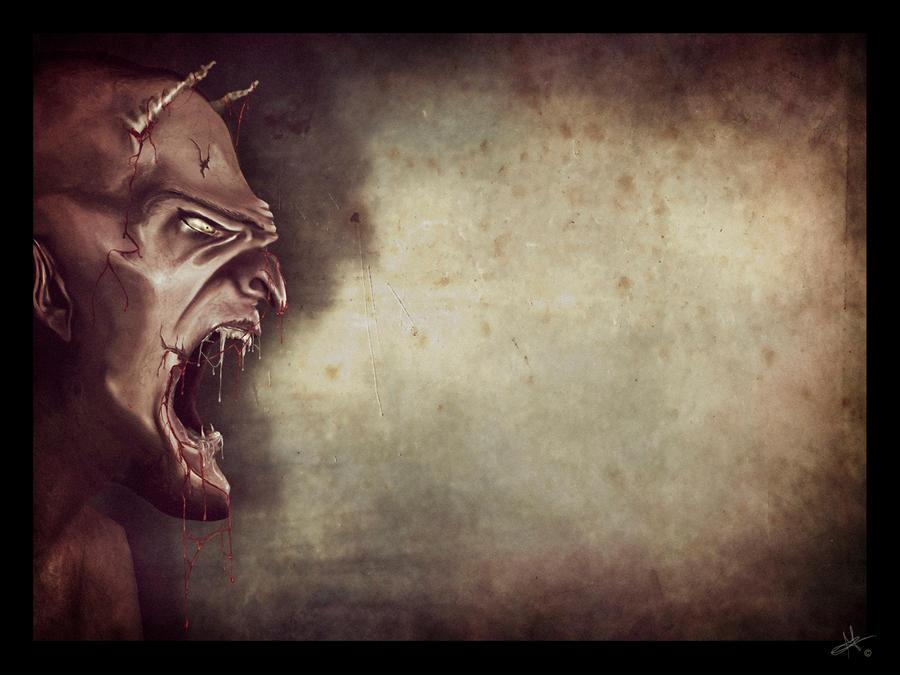 Hellish anger by secret-fantasy