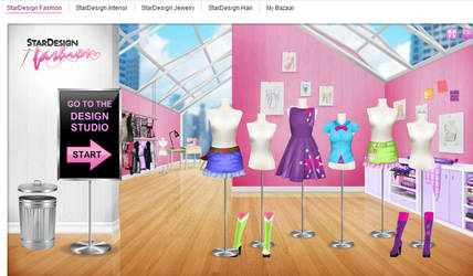 My Little Pony cosplays made on Stardoll