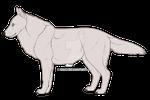 P2U Wolf Adoptable Base 40pts