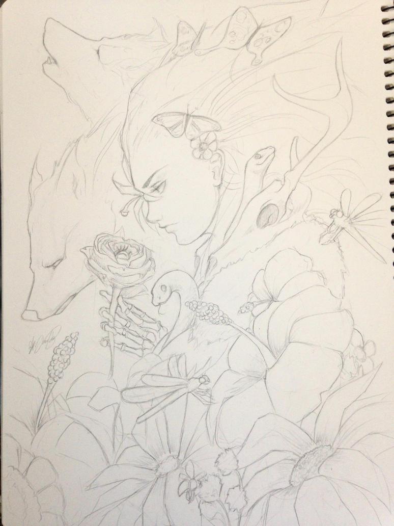 Jungle's ritual by omertokyay