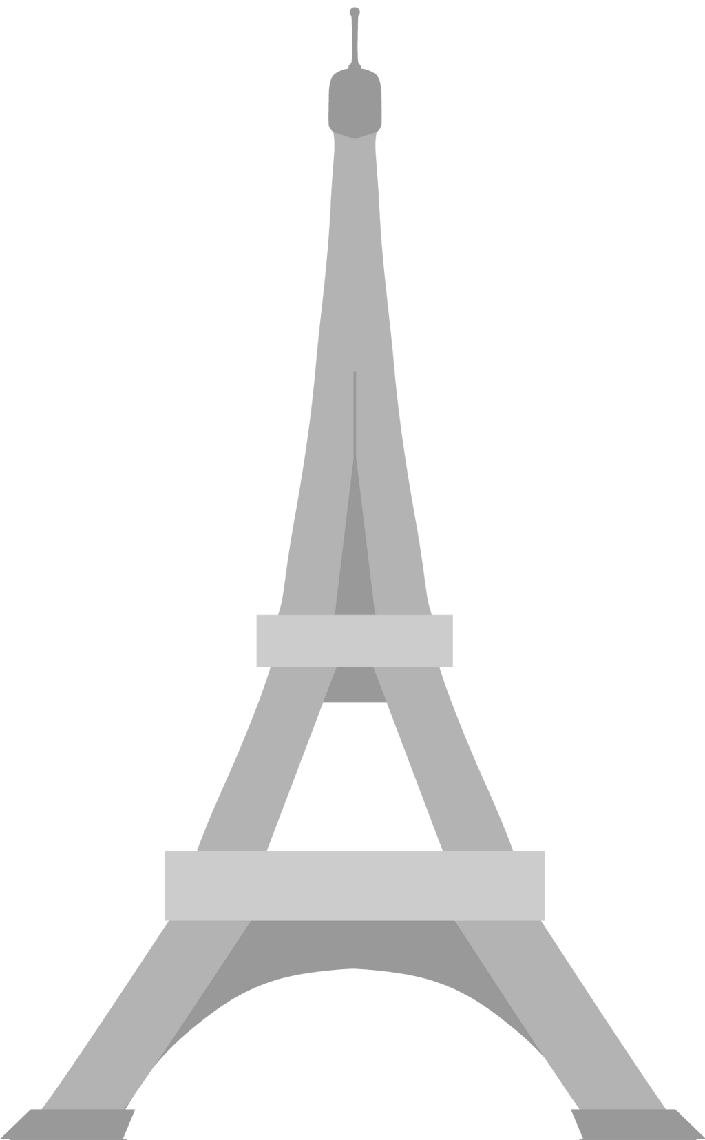 Eiffel Tower SVG icon by greenpencl on DeviantArt