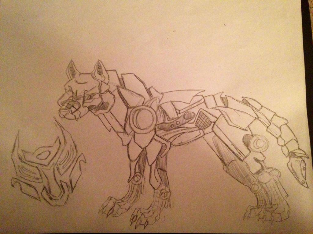 Robo transformer oc by Samanthasash