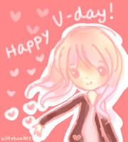 Happy Valentine's Day! by kittiehcakes