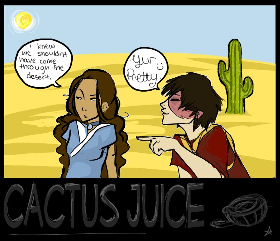 Zutara Week: Cactus Juice by batcii
