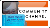 Communitychannel Stamp by batcii