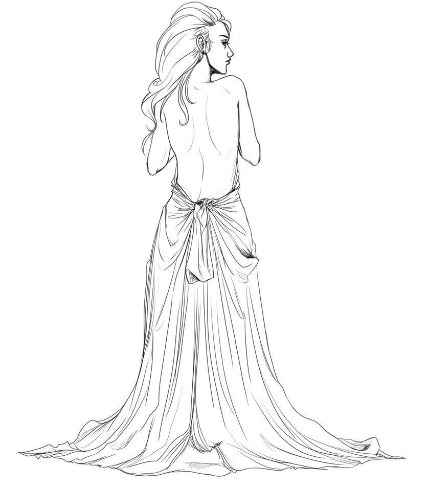 Athena greek goddess drawing