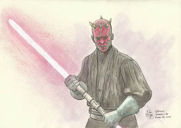 Darth Maul by rosquilladebacon