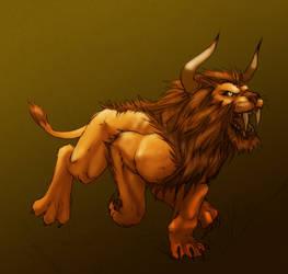 World of Warcraft Horde Lion by teamsugoi1
