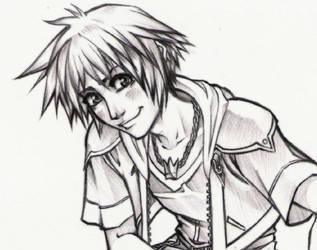 Sora Detail Sketch by teamsugoi1