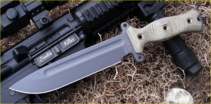 Busse Combat Gemini knife AKA Daryl Dixon's Knife by WolfSniper727