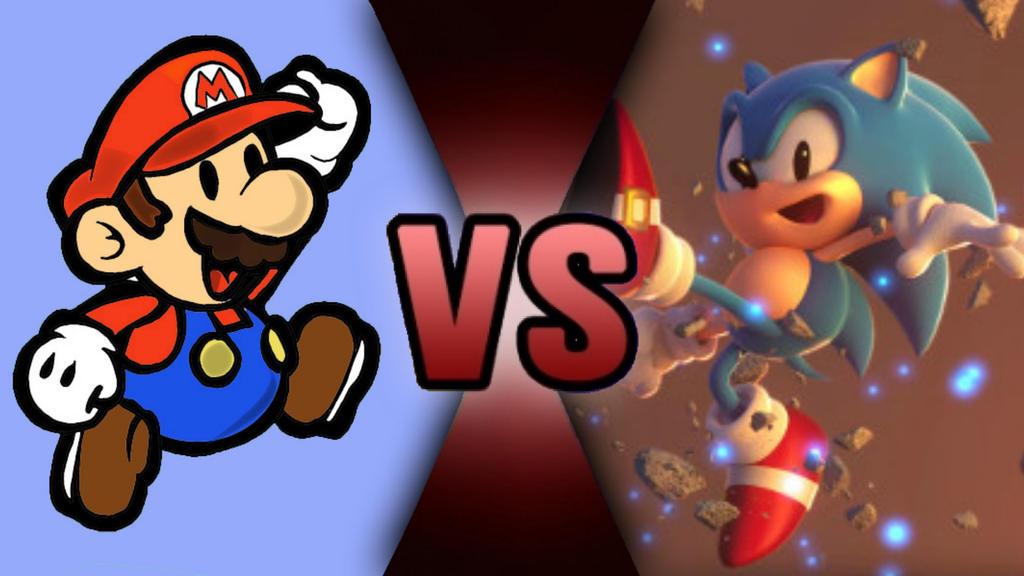 Death Battle Ideas Paper Mario Vs Classic Sonic By Golden Sans On Deviantart