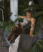 Lara's back! by siksix
