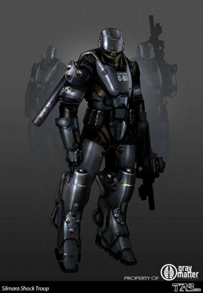 LA Armour Profiles: Enforcer by Gideon020